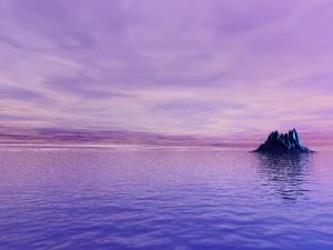 Purple Fantasy World, by LisaMacNewton